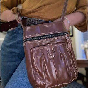 Meissi crossbody purse , genuine leather
